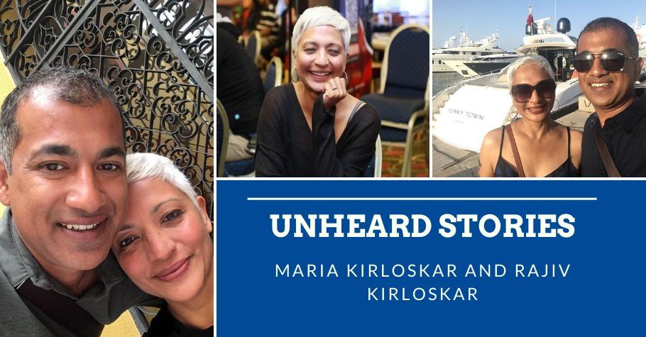 Unheard Stories: Candid Conversations With Maria Kirloskar And Her Better Half