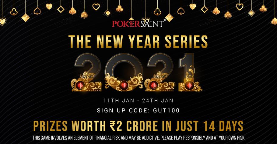 PokerSaint New year series