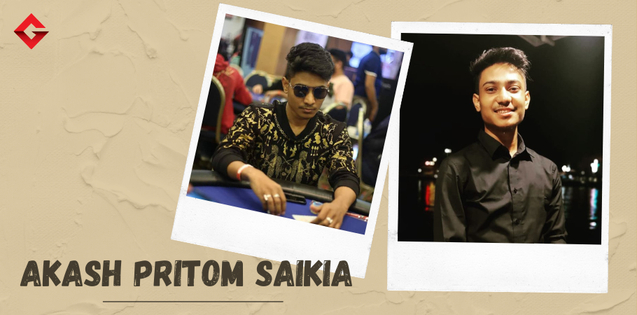 EXCLUSIVE: Akash Saikia aims at winning a WSOP bracelet