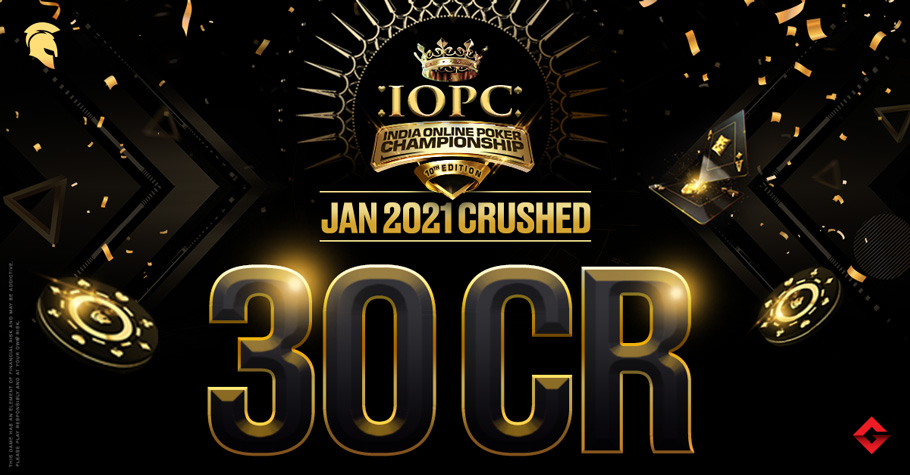 India Online Poker Championship January 2021 Round-Up