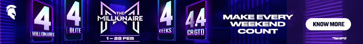 WIN 4.4 Crores in 4 weeks ONLY on Spartan PokerWIN 4.4 Crores in 4 weeks ONLY on Spartan PokerWIN 4.4 Crores in 4 weeks ONLY on Spartan Poker