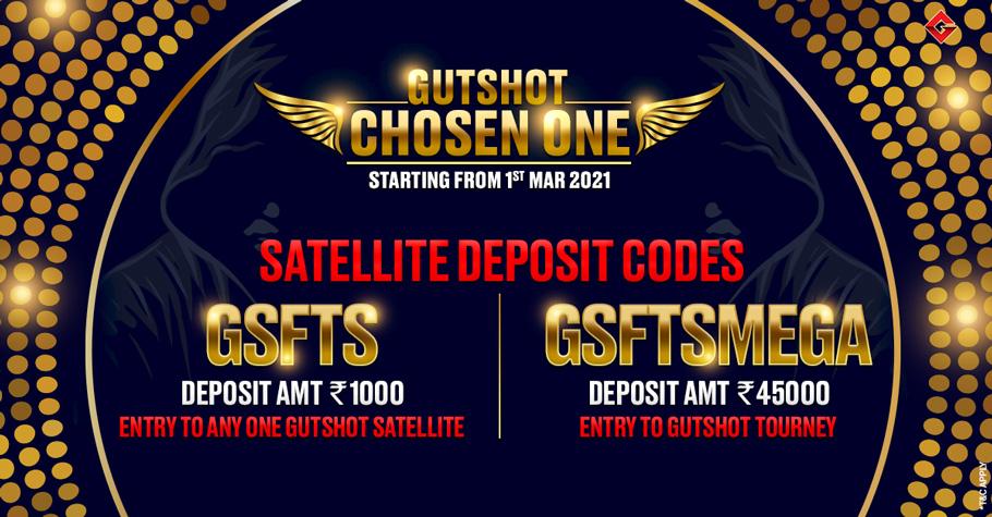 Get FREE Tickets To Gutshot Chosen One Tournament