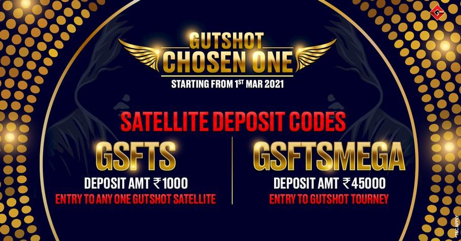 Gutshot Chosen One Deposit offer