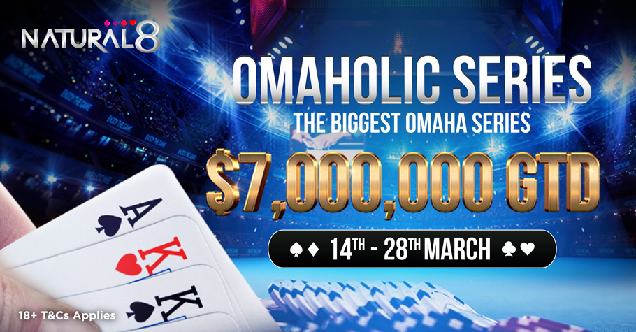 Natural8 To Host Omaholic Series With USD 7 Million In Prize Pool