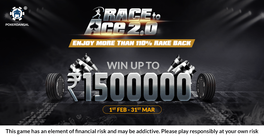 Mid Series Round-Up Of PokerDangal's 'Race To Ace 2.0' Leaderboard