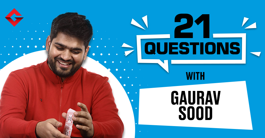 21 Questions With Gaurav Sood