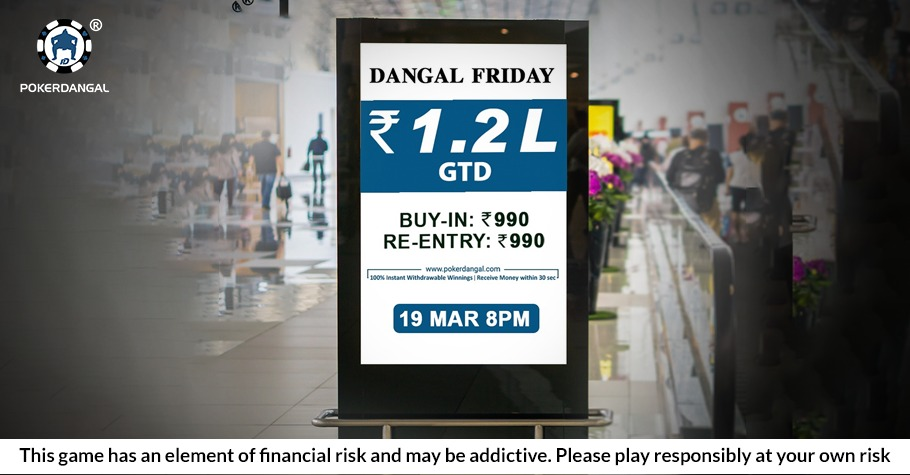 PokerDangal: Guess What's Happening This FRIDAY? (HINT: It's Worth 1.2 Lakh)