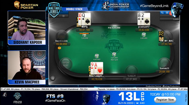 FTS 2.0 | Double Stack 25 Lakh GTD Final Table Livestream