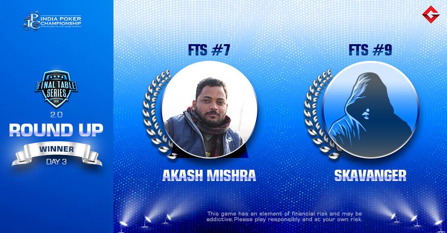 FTS 2.0 Day 3: Akash Mishra and 'SKAVANGER' Claim Titles