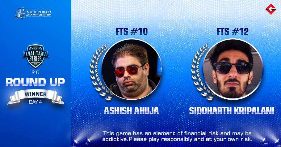 FTS 2.0 Day 4: Ashish Ahuja and Siddhanth Kripalani Emerge Victorious On Day 4