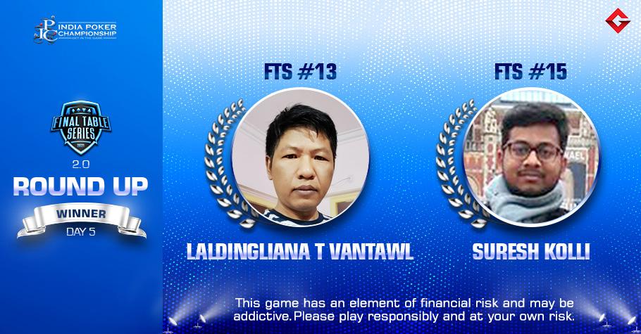 FTS 2.0 Day 5: Suresh Kolli & Laldingliana Tlau Vantawl Emerge Victorious