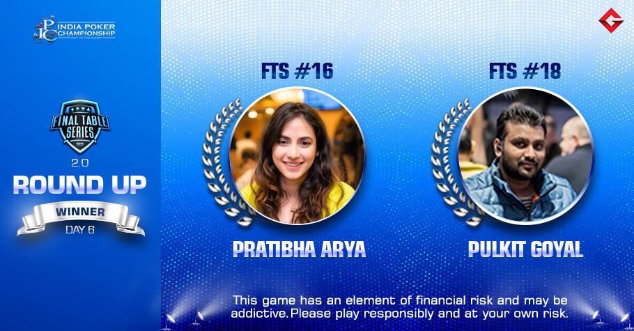 FTS 2.0 Day 6: Pratibha Arya & Pulkit Goyal Reign Supreme All The Way