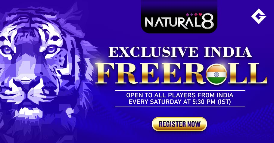 Natural8 Exclusive India Freeroll