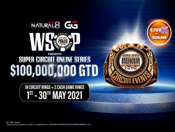 Natural8 WSOP May 2021