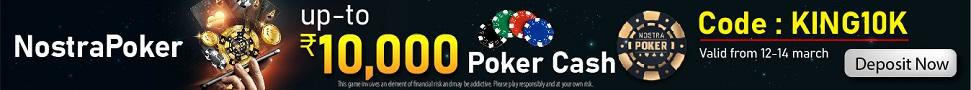 Nostra Poker cash upto 10K