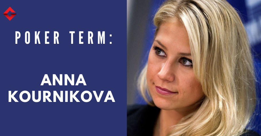 Anna Kournikova Graced Poker? REALLY?