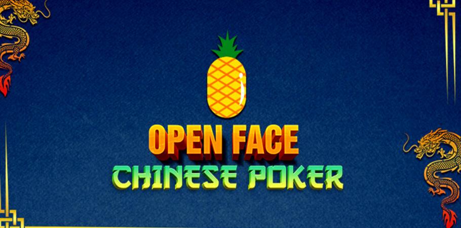 Poker Variation - Open Face Chinese Poker