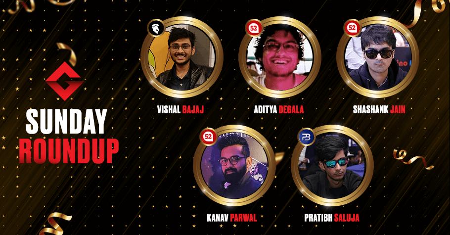 Sunday Round Up: Vishal Bajaj, Shashank Jain, Kanav Parwal & Others Win Big