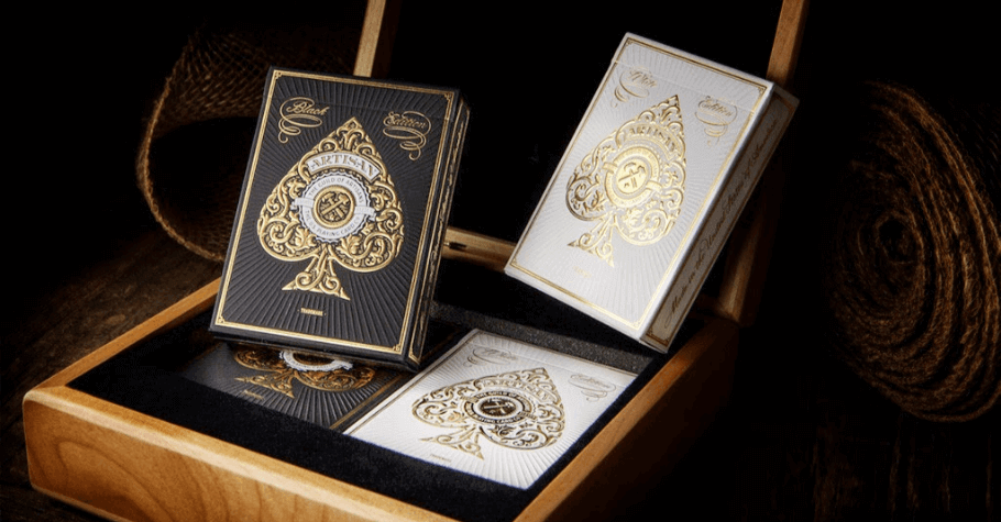 This Fancy Artisan Playing Cards Luxury Set Is A MUST Have