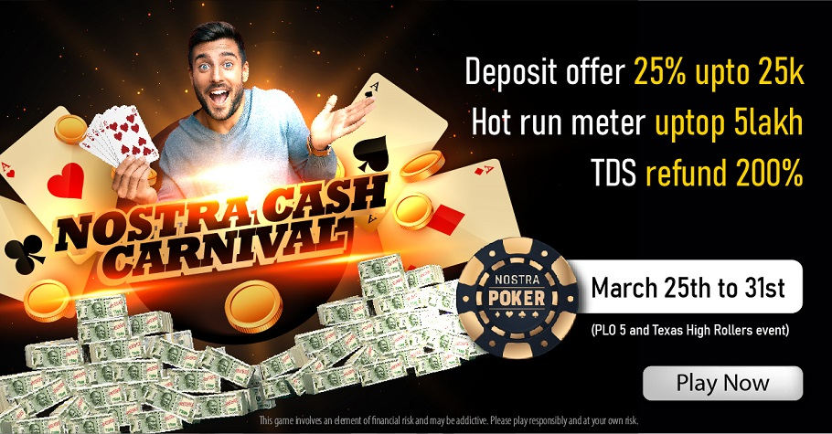 NostraPoker's 'Cash Carnival' Is A Treat For PLO And Texas Players