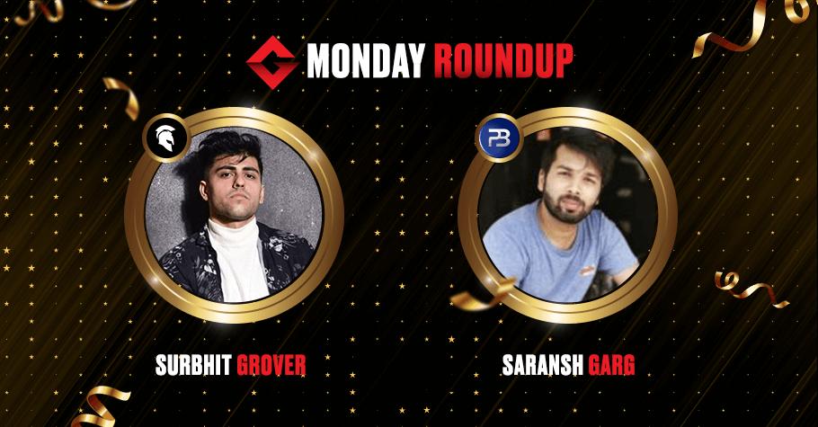 Monday Round Up: Surbhit Grover, Saransh Garg & 'Lemonade' Emerge Victorious