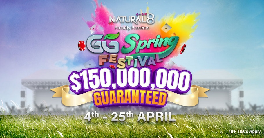 USD 150 Million Guaranteed In GGSF Tournaments This April!