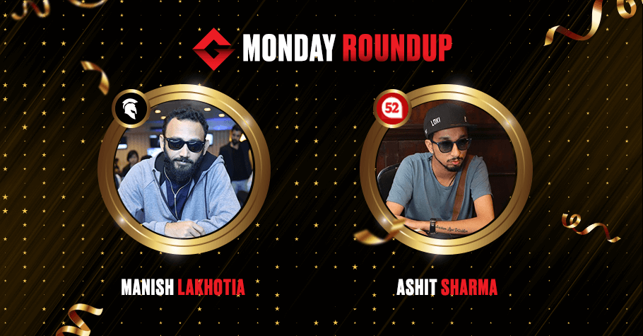 Monday Round Up: Manish Lakhotia Clinches Second Title In A Row!