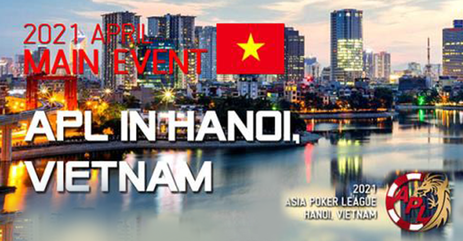 Asia Poker League: Live Event To Start On 3 April In Vietnam