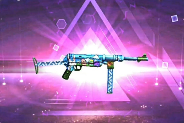 Crazy Bunny MP40 - 5 Best MP40 Skins From Garena Free Fire
