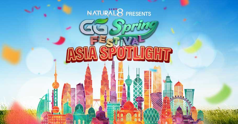 GG Spring Festival on Natural8: Asia Spotlight