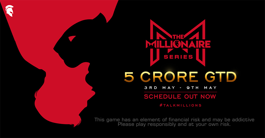 Spartan Poker's Millionaire Series Assures INR 5 Crore In Guarantee