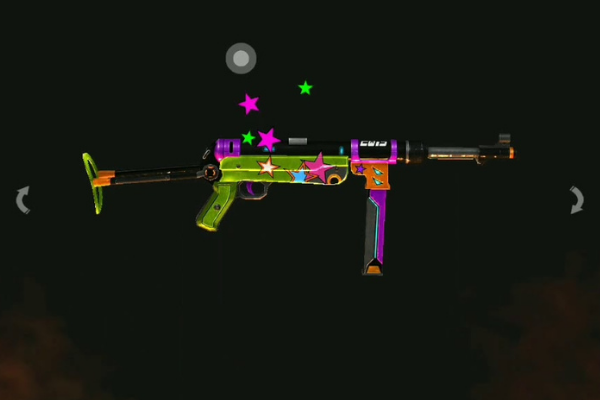 New Year MP40 - 5 Best MP40 Skins From Garena Free Fire
