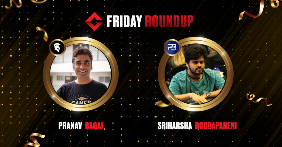 Friday Round Up: Pranav Bagai, Sriharsha Doddapaneni & Others Clinch Title Spots