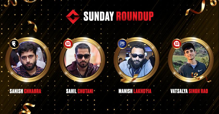 Sunday Round Up: Lakhotia, Chhabra, Chutani & Others Clinch Top Spots