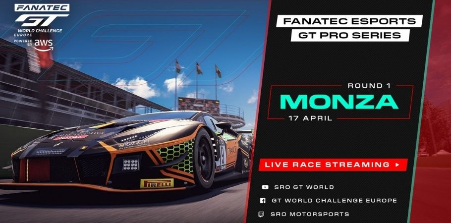 New Sim Racing At Monza's Fantec Esports GT Pro Series This Weekend