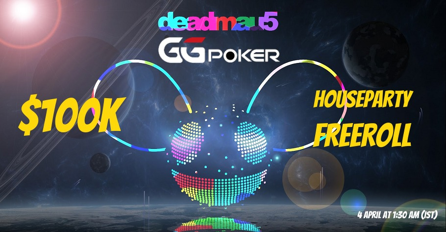 SIGN-UP To Play In GGPoker's USD 100K Freeroll