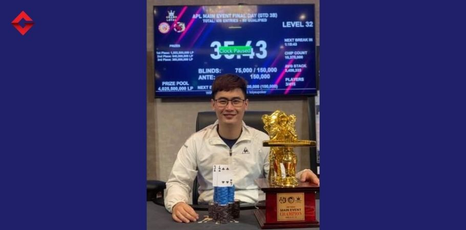 Huynh Ngoc Cuong Ships APL Hanoi 2021 Main Event Tournament & Cashed VND 1,00,35,00,000