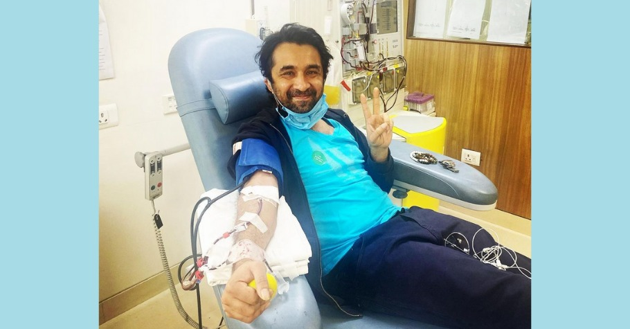 Siddhanth Kapoor Donates Plasma, Encourages Other Eligibles To Do So Too