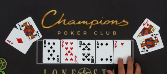 Unbelievable! Poker Player Predicts ALL The Cards On The Board