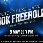 Celebrate Gutshot's 10th Birthday With An EXCLUSIVE FREEROLL On Spartan Poker