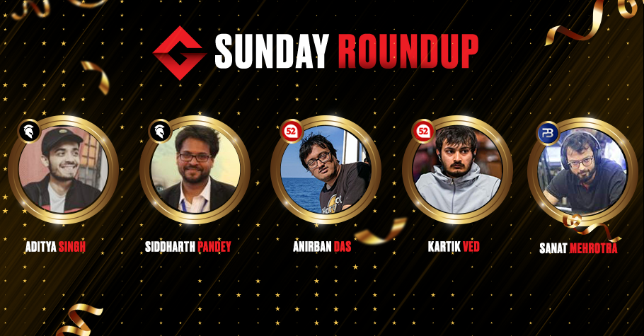 Sunday Round Up: Mehrotra, Ved, Das & Others Had A Dream Run In Online Poker