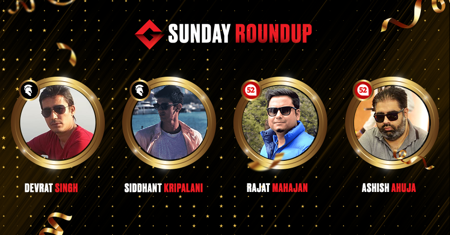 Sunday Round Up: Kripalani, Ahuja, Singh & Mahajan Took Hefty Pay Cheques Post Their Wins