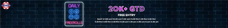 Calling Station 20k+ Freerolls