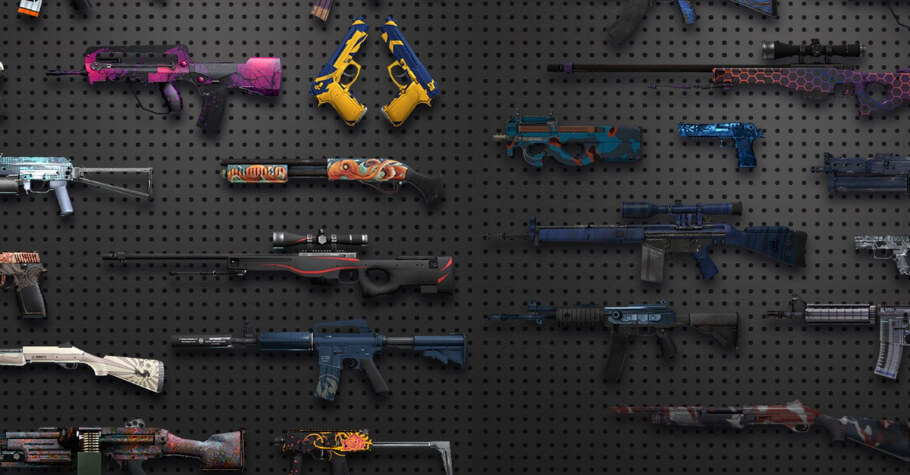 CSGO Player Discovers 39 New Weapon Skins In Game Files