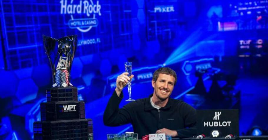 Brek Schutten Cashed $1.26 Million After Winning 2021 WPT SHRP