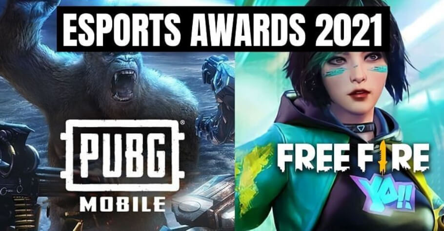 PUBG Mobile, Free Fire, and Call Of Duty nominated for Esports Mobile Game Of The Year Award 2021