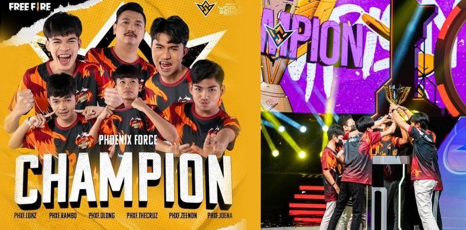 Phoenix Force Wins Free Fire World Series 2021; Event Creates Highest Viewership Record