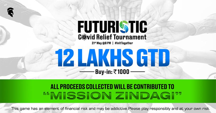 Futuristic 12 Lakh GTD On Spartan Poker