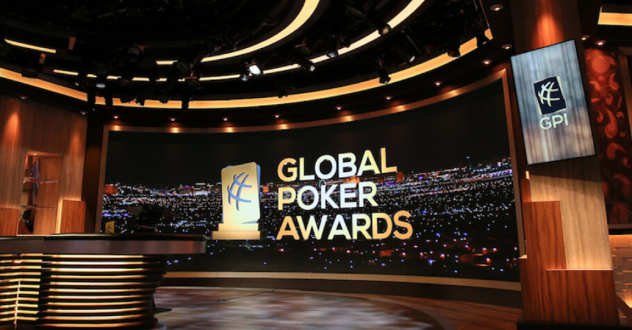 Global Poker Awards Rescheduled For 2022