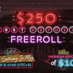 First Deposit Freeroll On Natural8